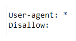 specify disallow rules